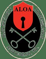 Aloa locksmith logo