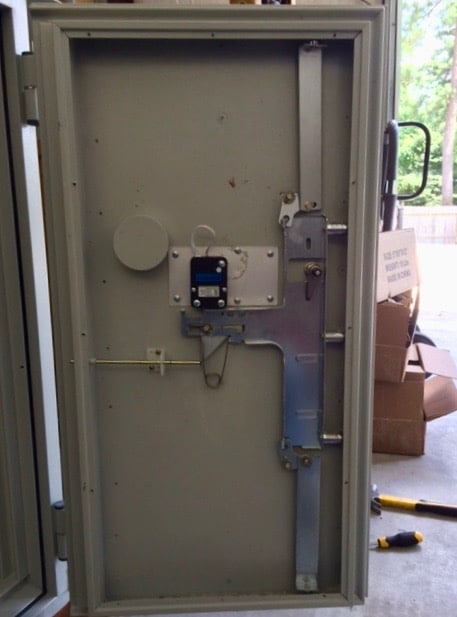 Gun Safe Opened by a safe locksmith